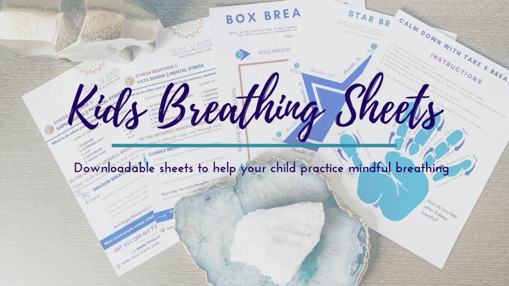 Breathing tools for kids