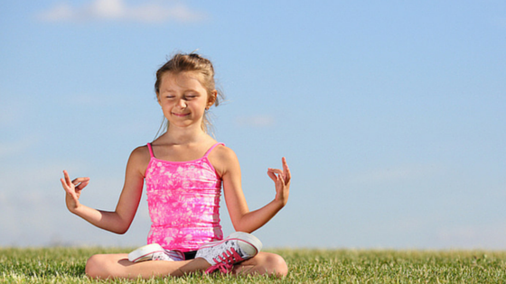 Kids Yoga-2, teach children