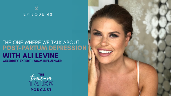 [EP 62] THE ONE WE TALK ABOUT POSTPARTUM DEPRESSION